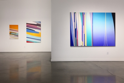 Feel the Sky exhibition, Duke Gallery, Azuza Pacific University