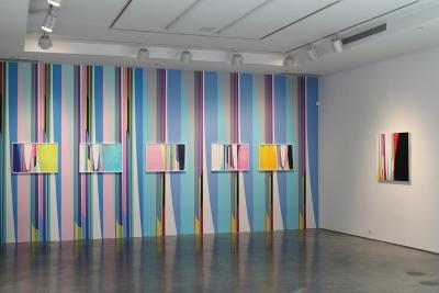 Chromatic Momentum exhibition, De Buck Gallery, New York