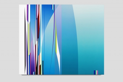 Compass 2020 acrylic on canvas 48 x 58 inches