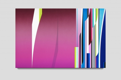 Pinpoint 2020 acrylic on canvas 20 x 30 inches