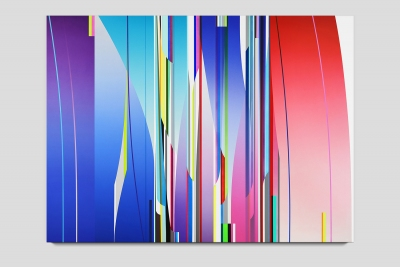 Wish 2020 acrylic on two canvases 72 x 96 inches